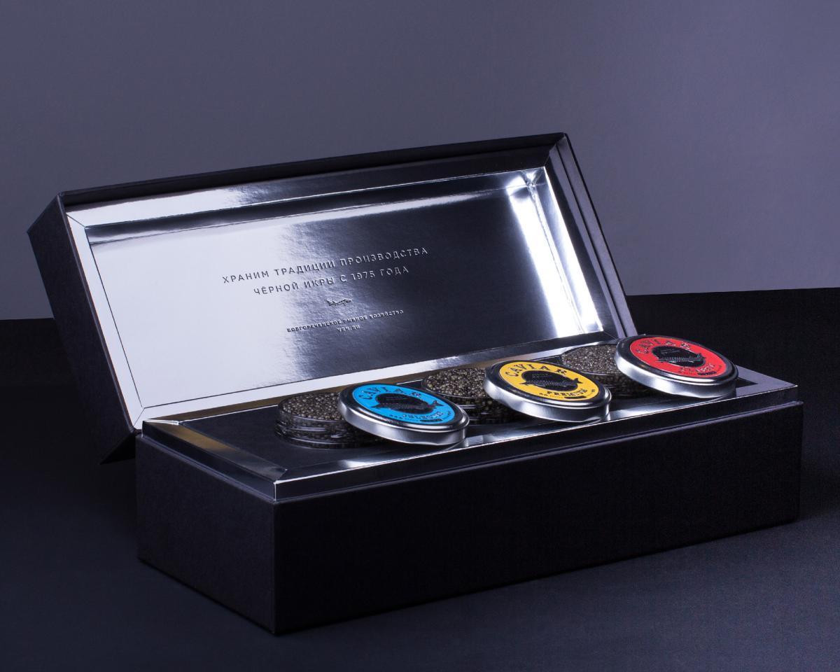 Сохранность драгоценного продукта обеспечивает хладоэлемент, расположенный внутри подарочной шкатулки
